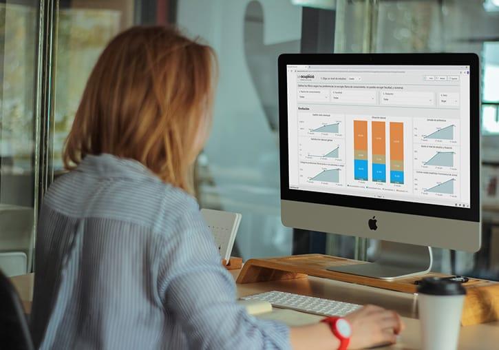 Evotic desarrolla una herramienta interactiva para analizar la inserción laboral de la Universidad de Valencia
